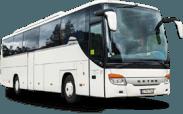 Setra S415 GT HD autobuso priekis ir šonas