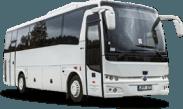 Temsa MD9 autobuso priekis ir šonas